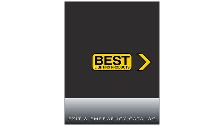 An image showing the cover of the BEST Lighting Products catalog with the BEST Lighting logo