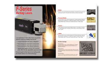 An image showing the cover of the Telesis Technologies Laser catalog