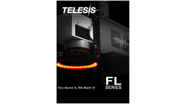 An image showing the cover of the Telesis Technologies Fiber Laser flyer.