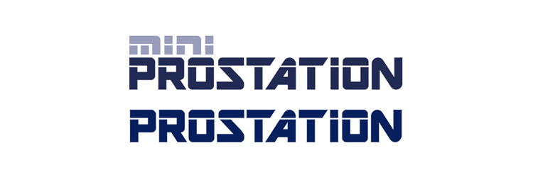 Two logos for the Telesis Technologies Prostation and Mini Prostation products.